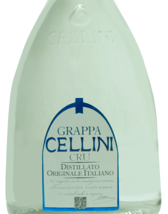 Grappa Cellini Cru