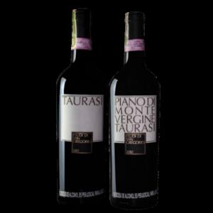 Vino Taurasi + Vino Piano di Montevergine 15% de descuento.